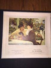 Leoncavallo La Boheme, 3LP BOX ITALY ORIG +LIBRETTO, & Pamphlet, rare!