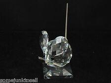 Swarovski Crystal ~ Medium Mouse ~ With Box 7631 Nr 040