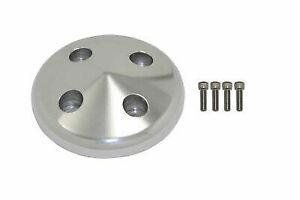 Billet Aluminum Long Water Pump Aluminum Pulley Nose Cap W/ Bolts Chevy Hot Rod