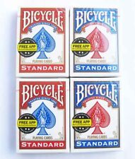 BRAND NEW 4 Decks Bicycle US Standard Playing Cards Card Sealed Poker