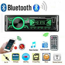 Autoradio Bluetooth 4.0 USB Aux In Equalizer Verschiedene Beleuchtungsfarben