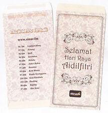 [SS] SDR087 Sinar FM Sampul Duit Raya 2pcs