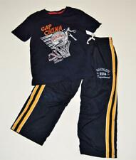 Boys S 6 7 GAP KIDS Logo Outfit Set Basketball T Shirt Mesh Lined Athletic Pants