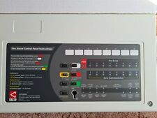 C-Tec CFP 4 Zone Conventional Fire Alarm Control Panel CFP704-4 Safety Brand New