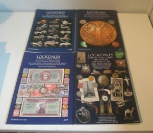 4 Auction Lockdales Coins + Collectables Auction Catalogue