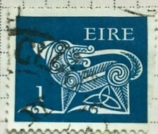 EIRE/Ireland stamps - Stylised Dog, 7th Century Brooch  1p 1971