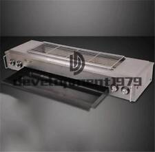 Commercial NEW 220v 32w gas-fired grill smokeless barbecue machine