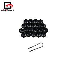 Universal 20×21mm Black Car Wheel Nut Caps Auto Hub Screw Cover Lug Nur Covers