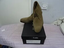 Loake Andrew SS Sand Suede Leather Mens Goodyear Lace Up Chukka SHOES UK 7F £255