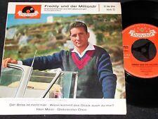 FREDDY QUINN Freddy und der Millionär / German 4-track SP 1962 POLYDOR 21386 EPH