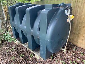 Titan 2500 Litre Fuel Storage Plastic Diesel Heating Oil Tank