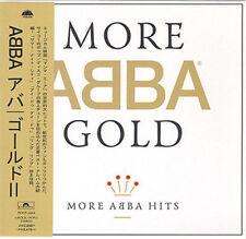 ABBA GOLD MORE ABBA HITS MINI LP CD OBI