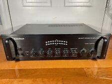 Radio Shack 250 Watt Stereo PA Amplifier In Box Tested Working MPA-250B