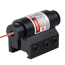 Tactical Mini Red Laser Sight For Rifle Scope Airsoft 20mm Weaver Picatinny
