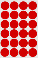 "Round Dot Stickers 25mm Colored Coding Labels 1"" Inch Adhesive Circles 360 Pack"