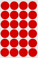 """Round Dot Stickers 25mm Colored Coding Labels 1"""" Inch Adhesive Circles 360 Pack"""