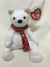 Ty Beanies Baby 2000 Holiday Teddy RETIRED