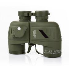 10x50 HD Military Navy Binoculars W Rangefinder Compass Telescope Night Vision