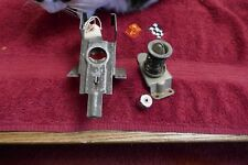 CORVETTE C1 1958-62 DECK LID LATCH ASSEMBLY MALE & FEMALE WITH BUTTON