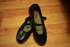 Women's SAS shoes leather 9 WW NEW color black