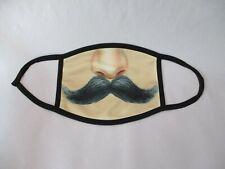 Cloth Face Mask Barbershop Quartet Handlebar Mustache Theme