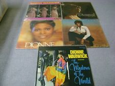 Lot of 5 Dionne Warwick LPs