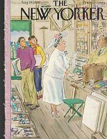 New Yorker Magazine August 19 1950 Helene Hokinson Charles Addams