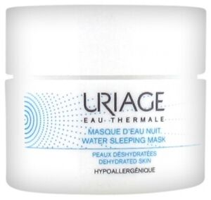 Uriage Eau Thermale Water Sleeping Mask 50ml Moisturizing,Hydrating Fresh skin