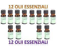 10 FLACONE + 2 omaggio 10 ML Oli Essenziali olii olio PER DIFFUSORI AROMATERAPIA