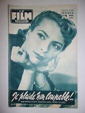 LE FILM COMPLET N°580 1956 JE PLAIDE NON COUPABLE / DEBAR - LAAGE - VILLARD