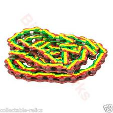 Rasta Chain 1/2 x 1/8 BMX Track Fixie Bike Bicycle Red Yellow Green Salt K710