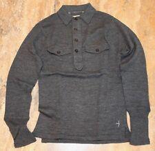 78d19e56 RELWEN Merino Wool Men's Sweater Grey XS extra small gray
