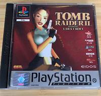 Tomb Raider II 2 - Sony Playstation 1 UK PAL GAME PS1 - Lara Croft