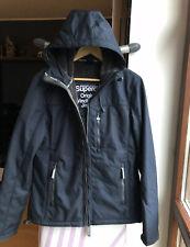 Superdry Jacke Herren Winterjacke Wind Trekker Kapuzenjacke M Neu Jacket Blau