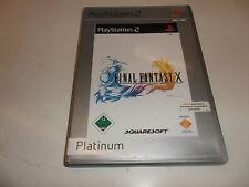 PlayStation 2  PS 2  Final Fantasy X - PS2 Platinum