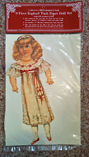 """Raphael Tuck Paper Doll Set- 9 Piece 9"""" Set- (1984) Brand New In Package - 0 P&P"""