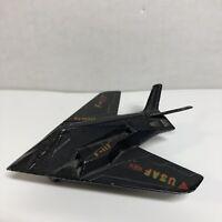 Die-Cast USAF Replica F-117 Pencil Sharpener Black Metal by Action