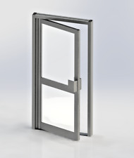 NEW ALUMINIUM SHOP FRONT ENTRANCE DOORS DIRECT FROM THE MANUFACTURER FROM £699