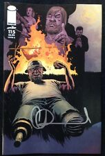 IMAGE COMICS THE WALKING DEAD #115 COVER G SIGNED BY CHARLIE ADLARD W/COA
