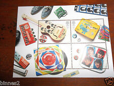 THE BEATLES ROYAL MAIL 2007  BRITISH  STAMPS (4) FIRST CLASS SET MINT UNUSED