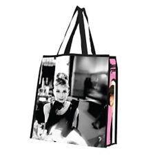 AUDREY HEPBURN LARGE SIZE SHOPPING TOTE BAG! Tiffany's! #92173 FREE SHIPPING
