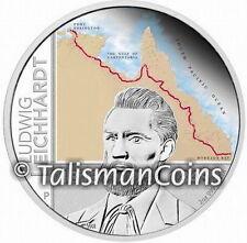 Australian 2013 Explorer Ludwig Leichhardt 200th $2 2 Ounce Pure Silver Proof