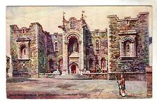 National War Memorial - Edinburgh Art Postcard 1933