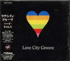 Love City Groove - Hard Times - Japan CD - 12Tracks OBI