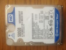WD 500GB Notebook HD SATA WD5000BEVT