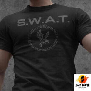 NEW SWAT LAPD Los Angeles Police Dep TV Series S.W.A.T. Reboot Inspired T-shirt