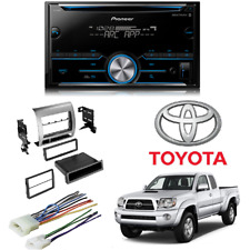 Pioneer Double DIN Bluetooth Car Stereo Receiver Toyota Tacoma Dash Kit