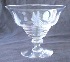 Vintage Stuart Crystal Woodchester Coupe Ludwig Kny