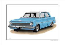 62' 63'   HOLDEN  EJ  138 SPECIAL SEDAN    LIMITED EDITION CAR PRINT  ARTWORK