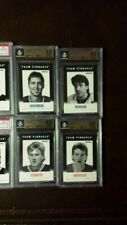 1991-92 Pinnacle B Insert B1 French Patrick Roy BGS 9.5 Gem Mint Set Break!